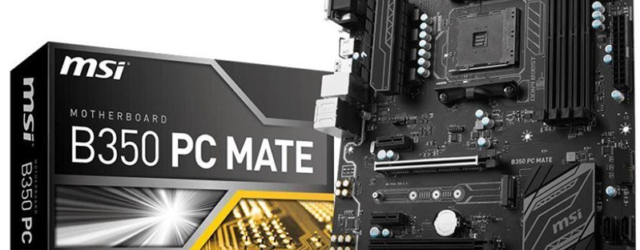 Материнская плата для майнинга MSI B350 PC Mate