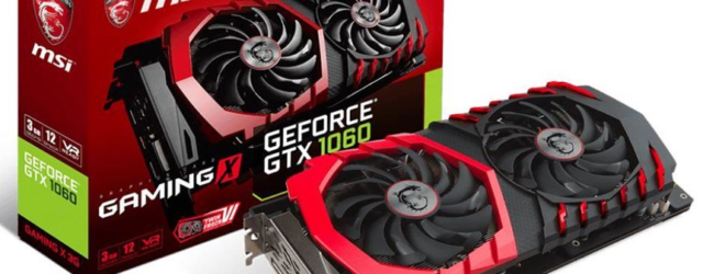 Видеокарта для майнинга MSI GeForce GTX1060 Gaming X 3G 3.0 GB OC High End