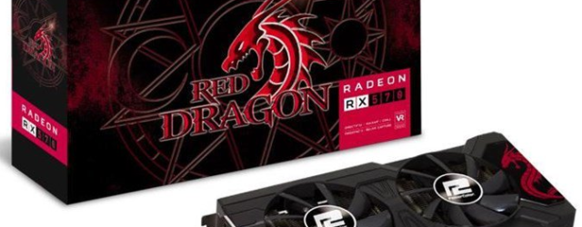 Видеокарта для майнинга Powercolor Radeon RX 570 Red Dragon 4.0 GB OC Mid Range