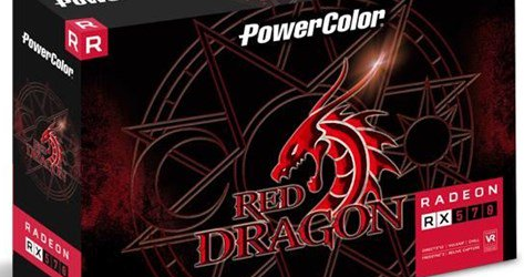 Видеокарта для майнинга Powercolor Radeon RX 570 Red Dragon 8.0 GB OC Mid Range
